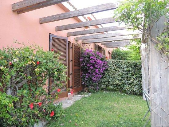 Hotel Punta Sur: Private Garden
