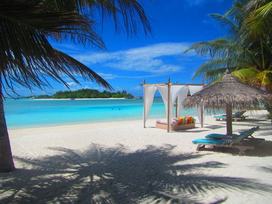 Anantara Veli Maldives Resort : stunning beaches!