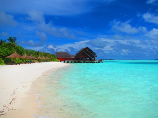 Anantara Veli Maldives Resort : over water restaurants at this resort!