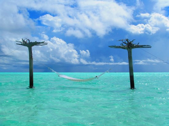 Anantara Veli Maldives Resort : coolest hammock we've ever seen