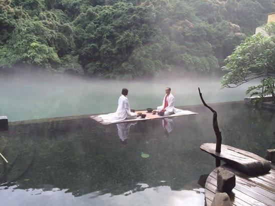 Volando Taipei Urai Spring Spa & Resort : Tribute to nature in the morning
