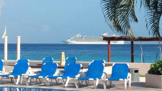 El Cozumeleno Beach Resort : vista al mar