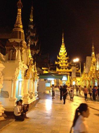 Pagode Shwedagon : View 5