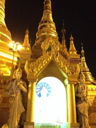 Pagode Shwedagon : View 1