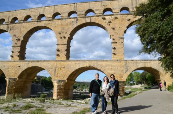 Tour Designer in Provence Private Tours: at the Pont du Gard