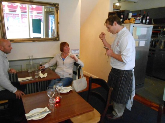 The Bistro & Cookery School: Charming chef