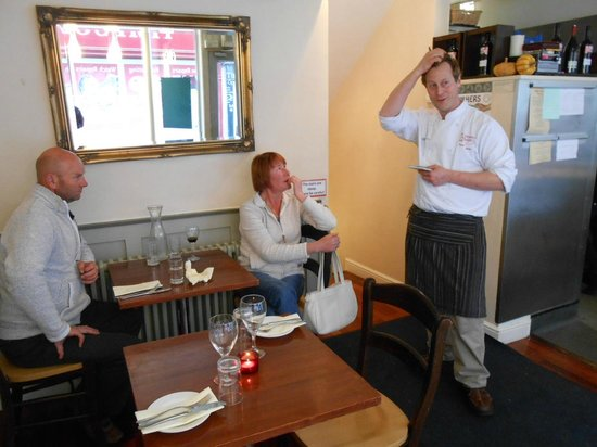 The Bistro & Cookery School: Nutty Chef