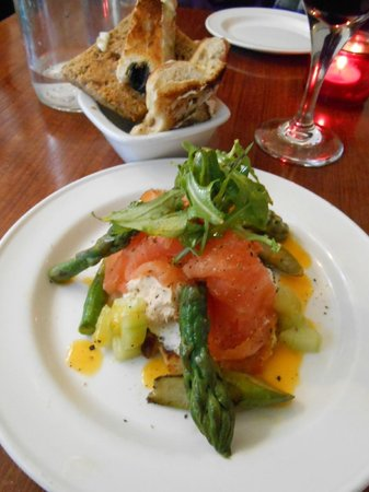 The Bistro & Cookery School: Fabulous starer I help invent
