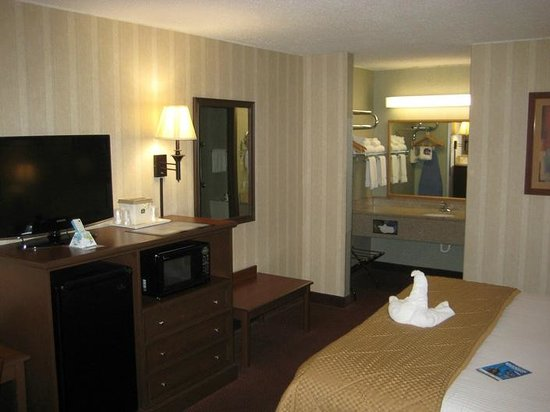 BEST WESTERN Center Pointe Inn: Room - overview