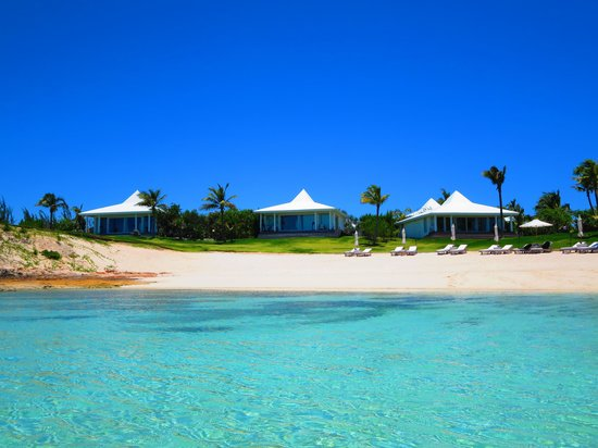 The Cove Eleuthera : view from the water