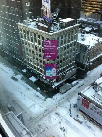 Novotel New York Times Square : View from the room