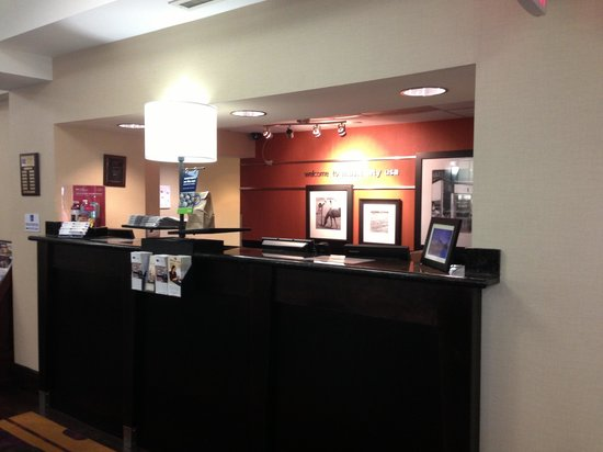 Hampton Inn & Suites Nashville / Airport: Front desk