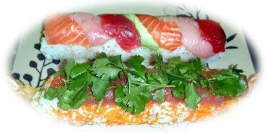 Musashi's Japanese Cuisine & Sushi Bar: Rainbow Roll & Cinco de mayo