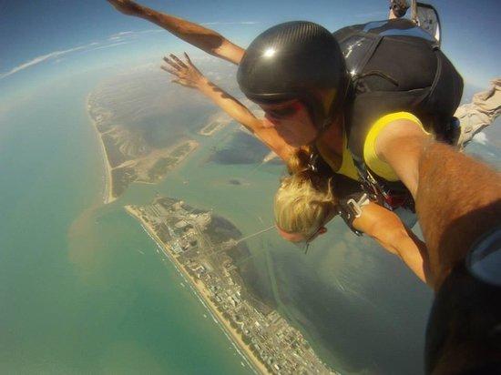 Skydive South Padre Island: Free fall