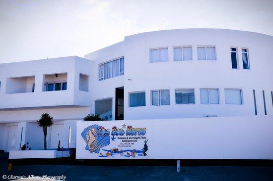 Swakopmund Accommodation: Entrance view