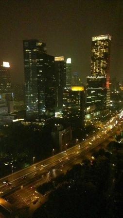 Hilton Shanghai: 部屋からの眺め