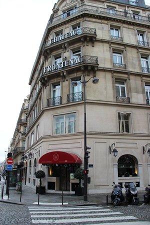 Hotel Chateau Frontenac: Frente del hotel