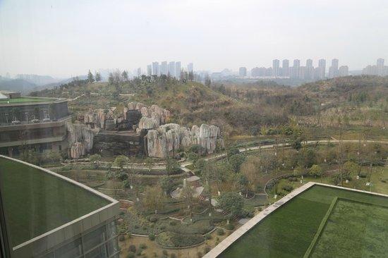 Hyatt Regency Guiyang: View from Hotel room