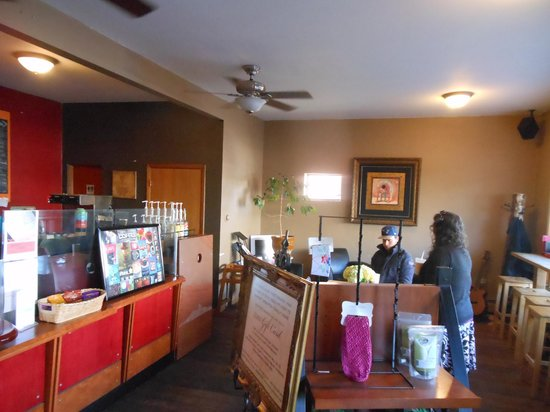 The Beta Coffee House: Interior