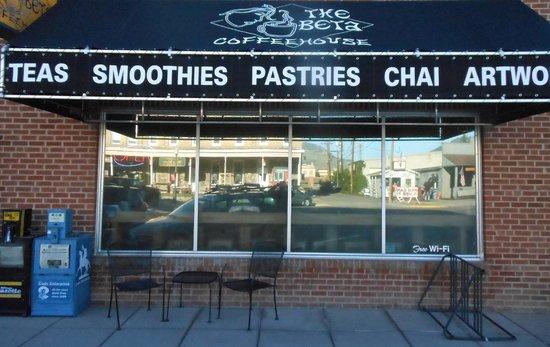 The Beta Coffee House: Facade