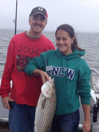 The Sea Horse Fishing : Striped Bass