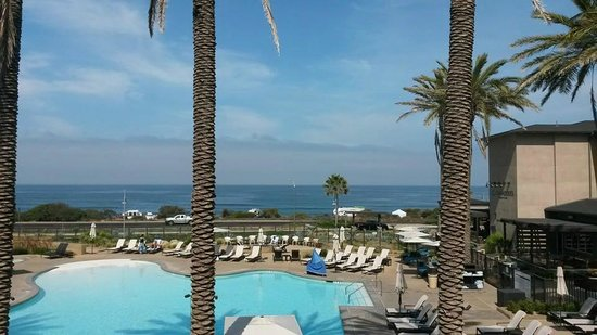 Cape Rey Carlsbad, a Hilton Resort : The view from our room