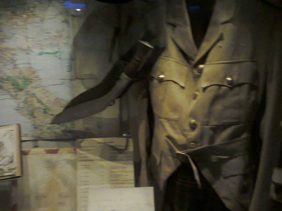Imperial War Museum: un traje del ejercito