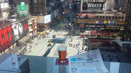 Novotel New York Times Square : Vue de la terrasse