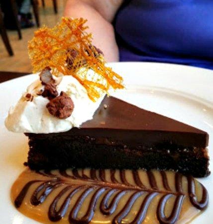 Wild Sage American Bistro : Chocolate hazelnut tort...this is addictive.