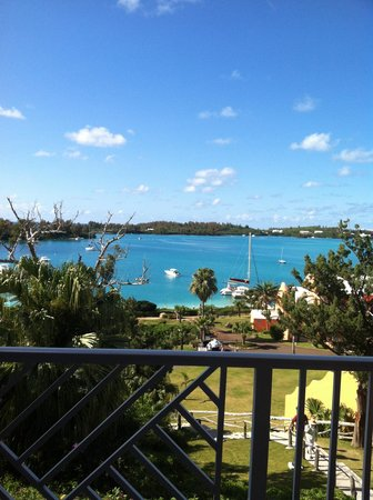 Grotto Bay Beach Resort & Spa: view from our balcony rm 522