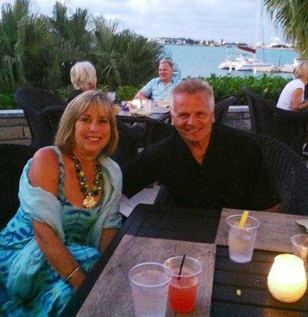 Grotto Bay Beach Resort & Spa: dinner at Bayside Grill