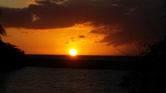 Koté Lagon : Koté sunset...
