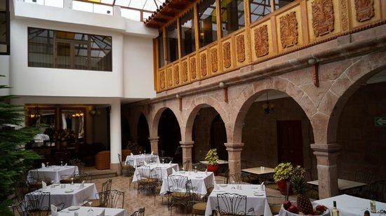Terra Andina Hotel : Breakfast in the atrium