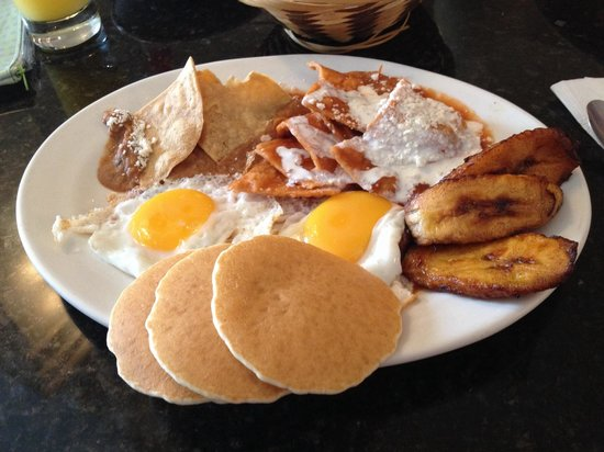 Girasoles Restaurante: Girasoles breakfast plate