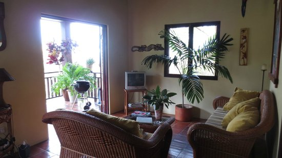 Villa Pomme d'Amour : Living room