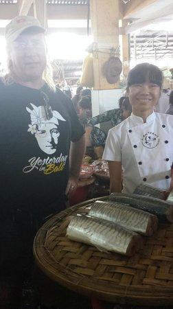 Lanterns Cooking Class: Greg & Nam at Market