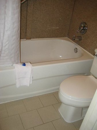 BEST WESTERN Truman Inn: New surround, tired old tub