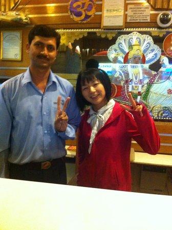 Hotel Hari Piorko : Mr.Ripu