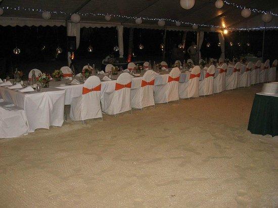 Holiday Inn Resort Vanuatu: wedding recption