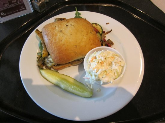 Minnesota History Center : The best, very best grilled vegetable sandwich