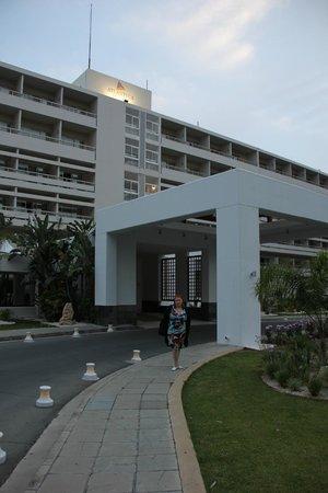Atlantica Miramare Beach : Главный вход в отель
