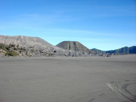 Mount Bromo: Bromo and Batok in the distance