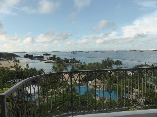 Shangri-La's Rasa Sentosa Resort & Spa: View from room