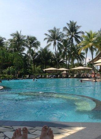 Shangri-La's Rasa Sentosa Resort & Spa: Pool