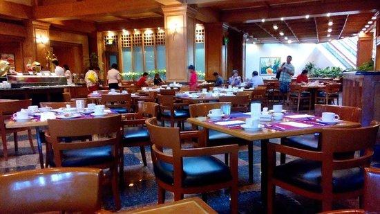 Century Park Hotel: coffee lounge