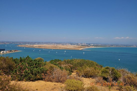 Cabrillo National Monument: San Diego bay