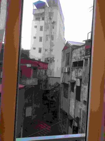 Especen Hotel: Вид из окна