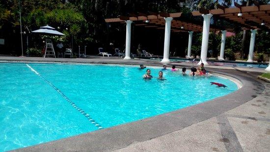 Century Park Hotel: oval pool