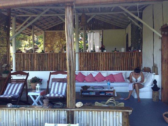 Eco-Pousada Casa Bobo : One of the many Relaxing areas ...