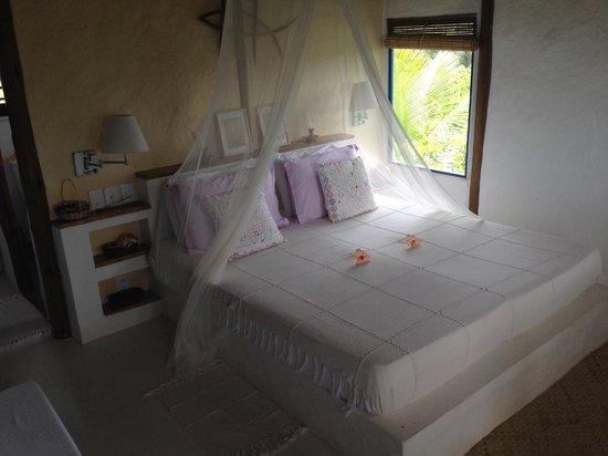 Eco-Pousada Casa Bobo : The bed ...
